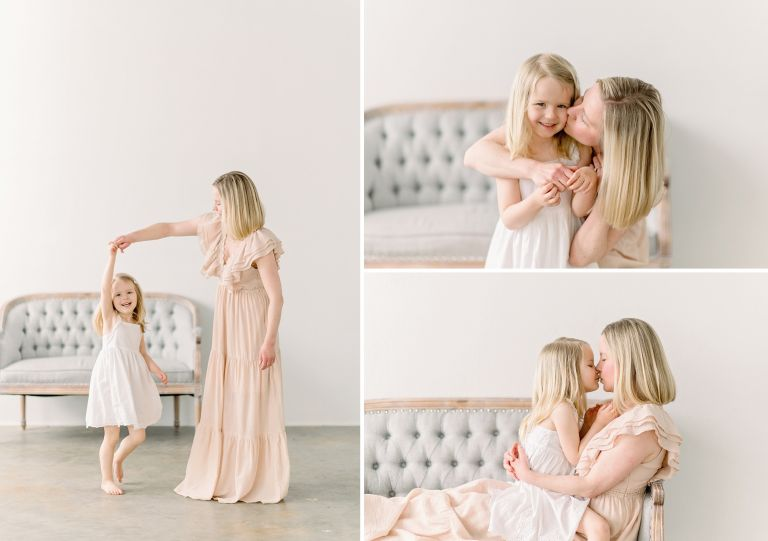 A summary of 2021's Mother's Day Mini Session Event in Studio in Centennial, Colorado.