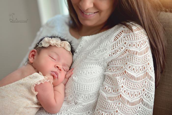 Tampa Lifestyle Newborn Photography