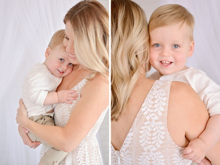 Mommy and Me Mini Session in Studio in Tampa FL