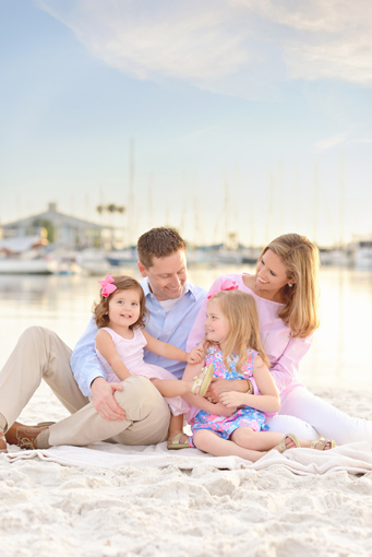 tampa beach family photos
