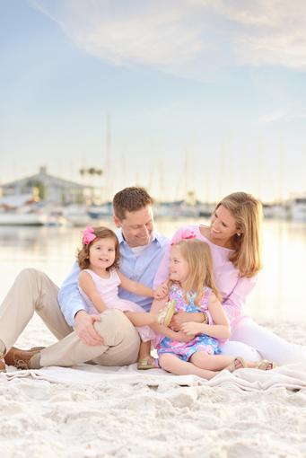 tampa beach family photos